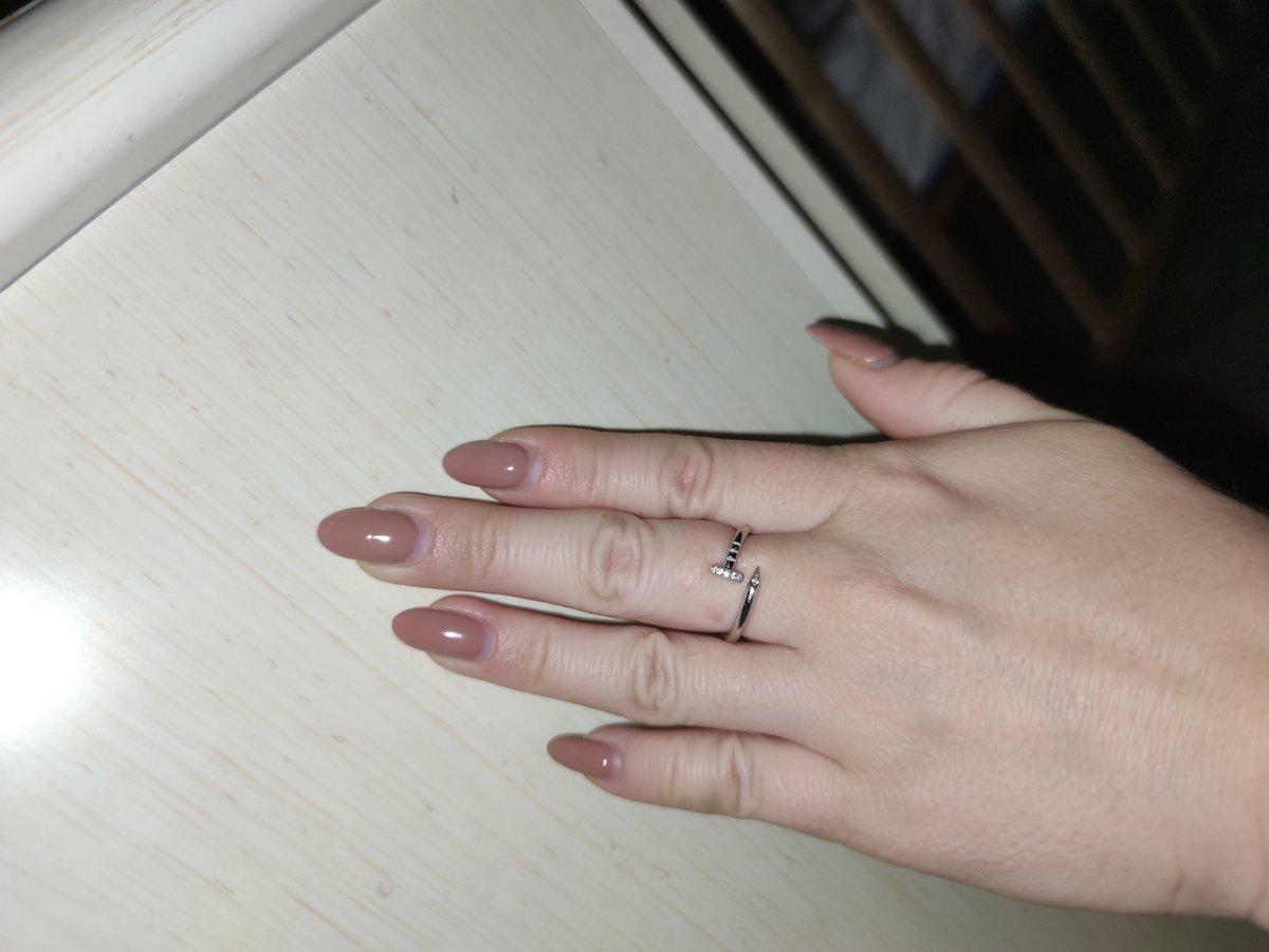 Стильное кольцо, не как у всех)