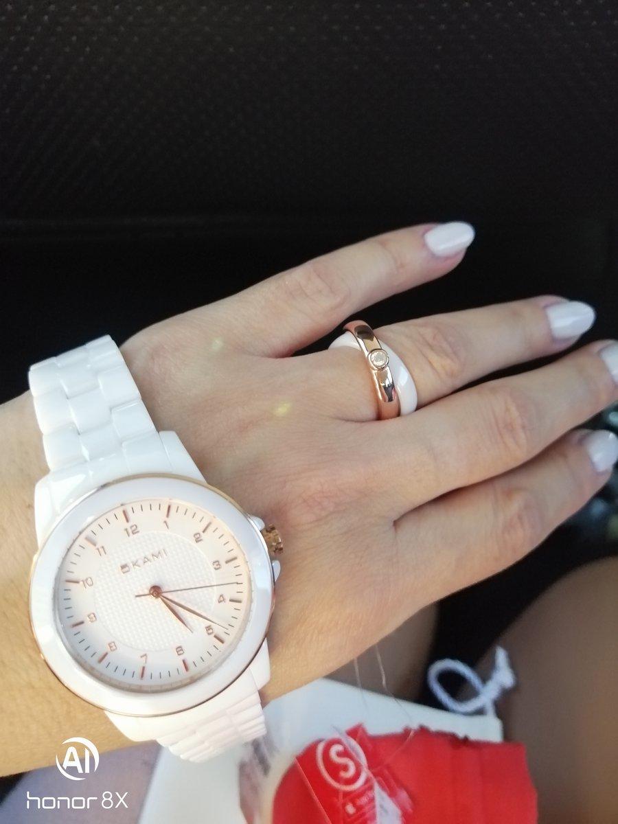 Отличные часы и кольцо. оценка отлично.