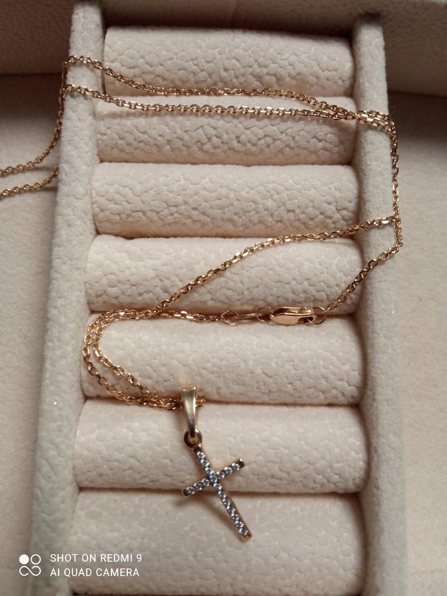 Золотая цепь 40 размер 585 проба