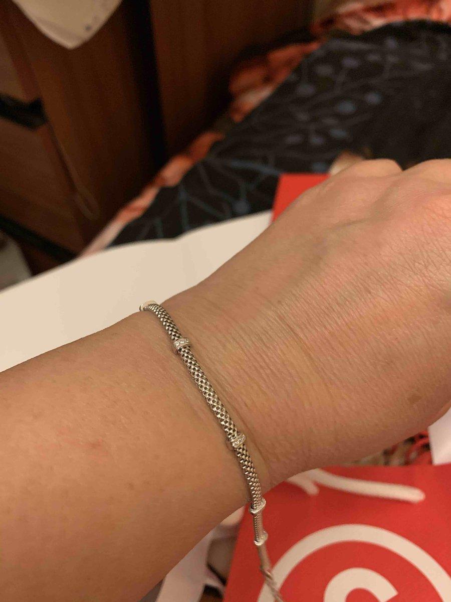 Итальянский серебрянный браслет