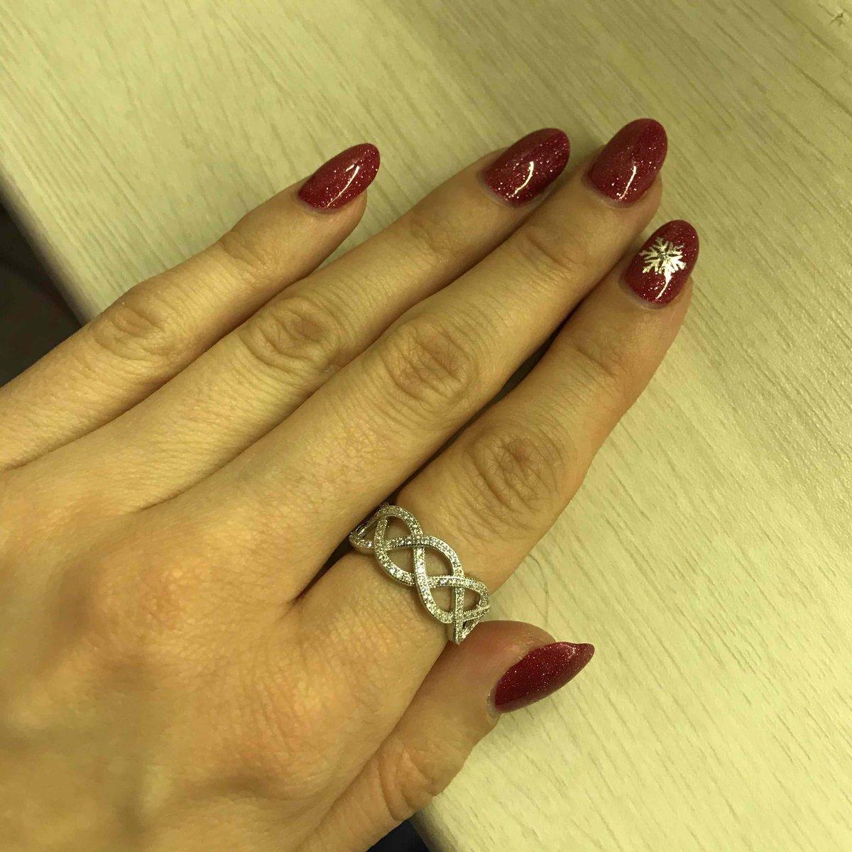 Кольцо с переплетением