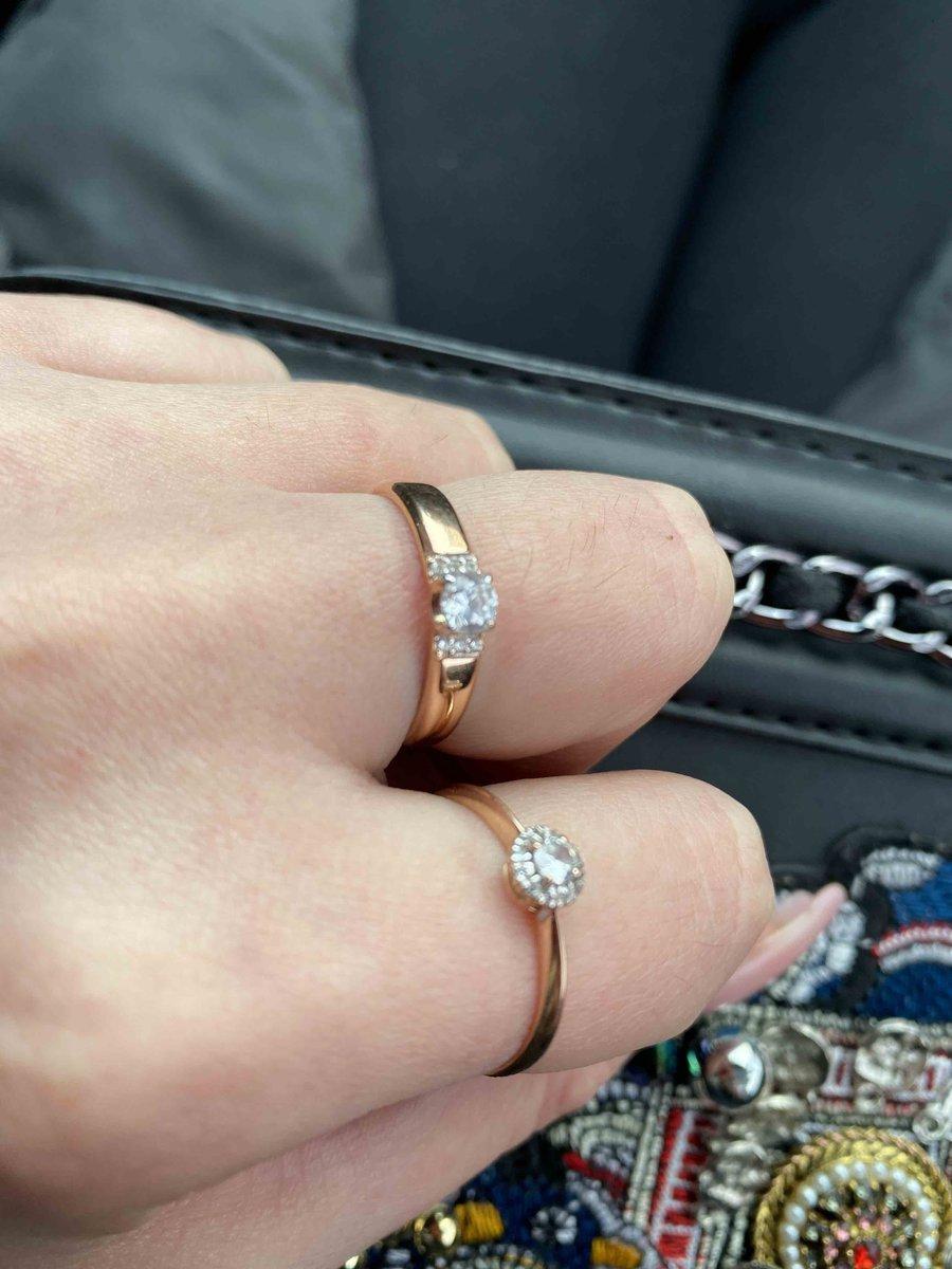 Красивое кольцо очень