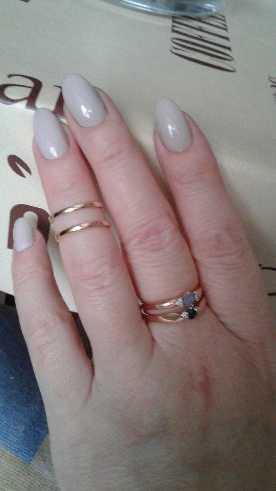 Оригинальное кольцо на фалангу