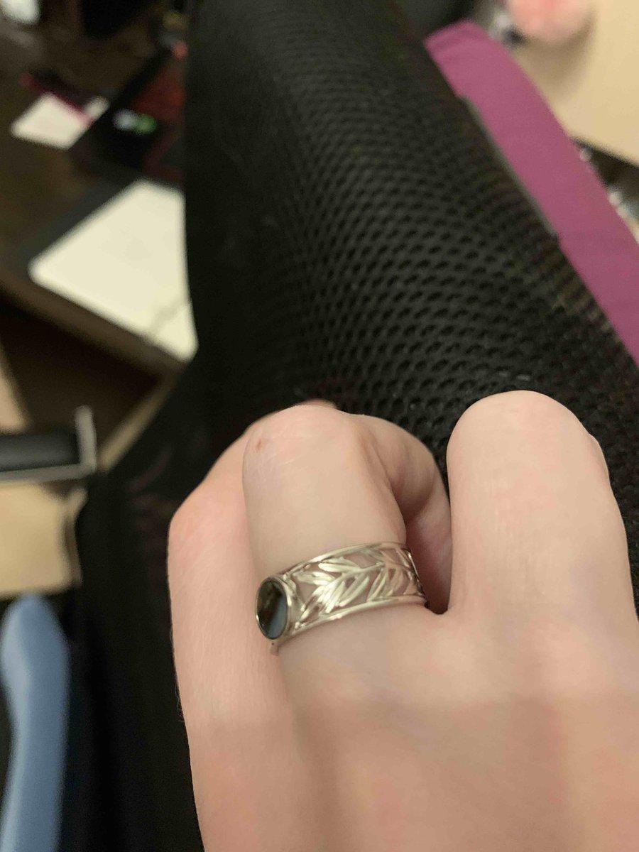 Кольцо с ракушками