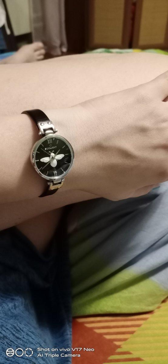 Часы с матыльком