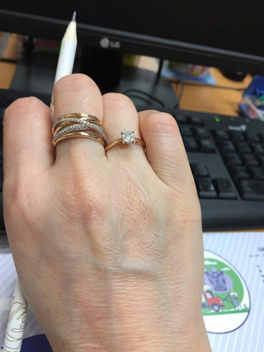 Симпатичное милое кольцо!