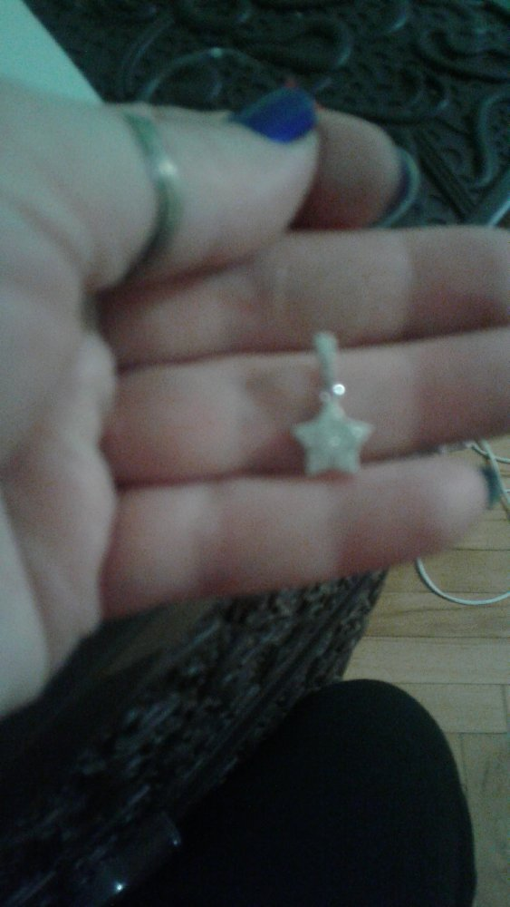 Кулон звезда