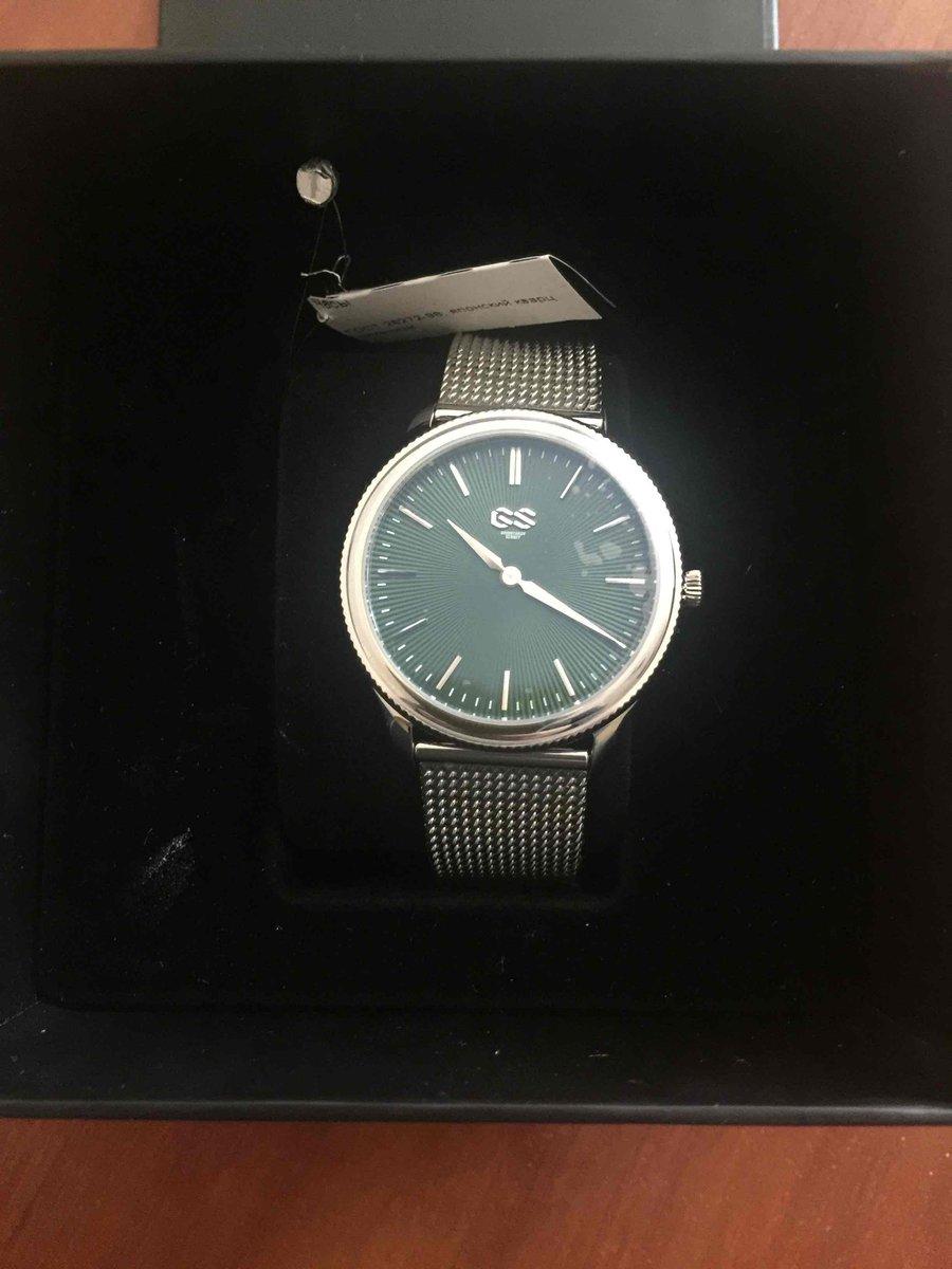 Мои новые часы!!