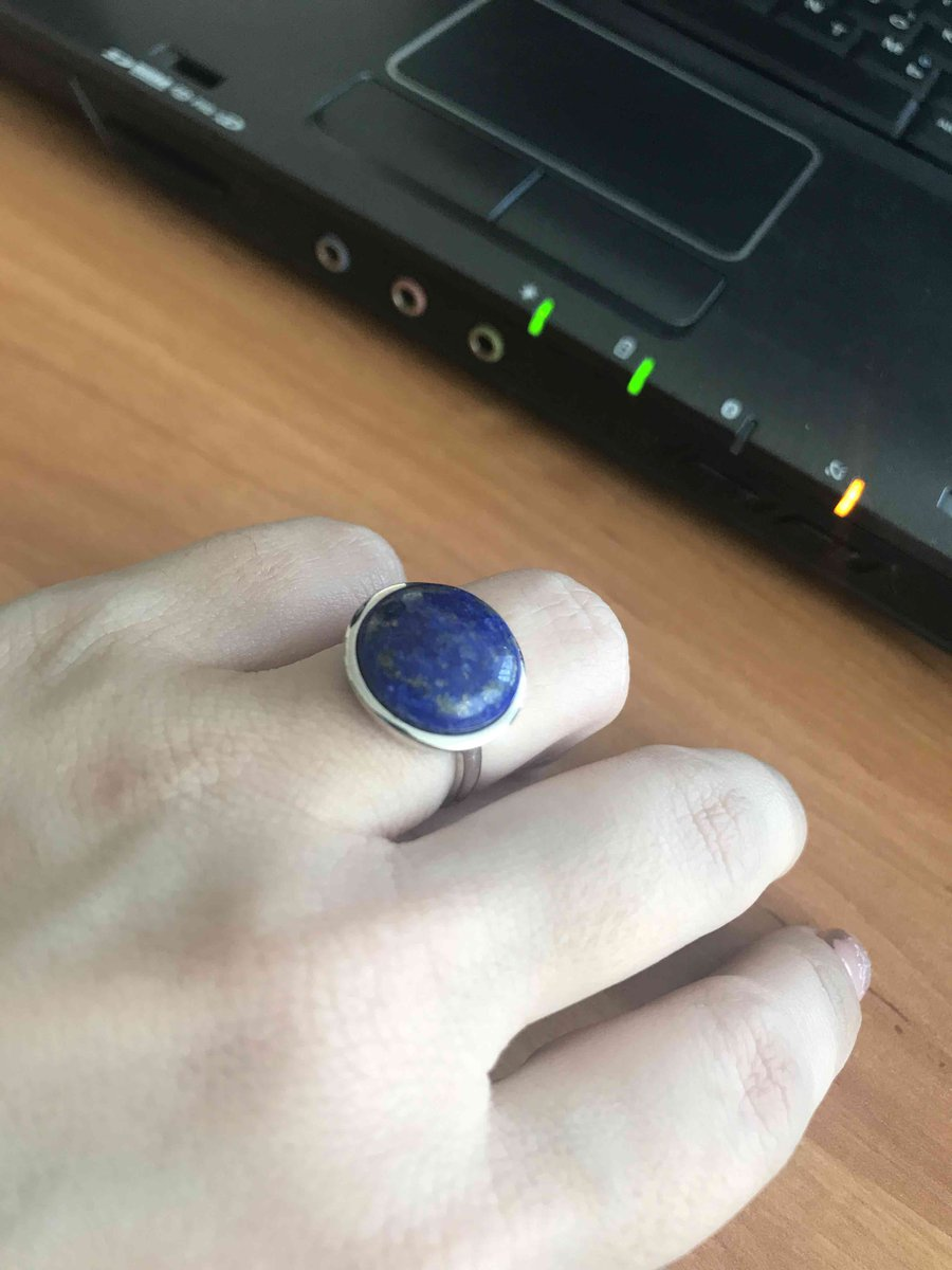 Крупное весомое кольцо