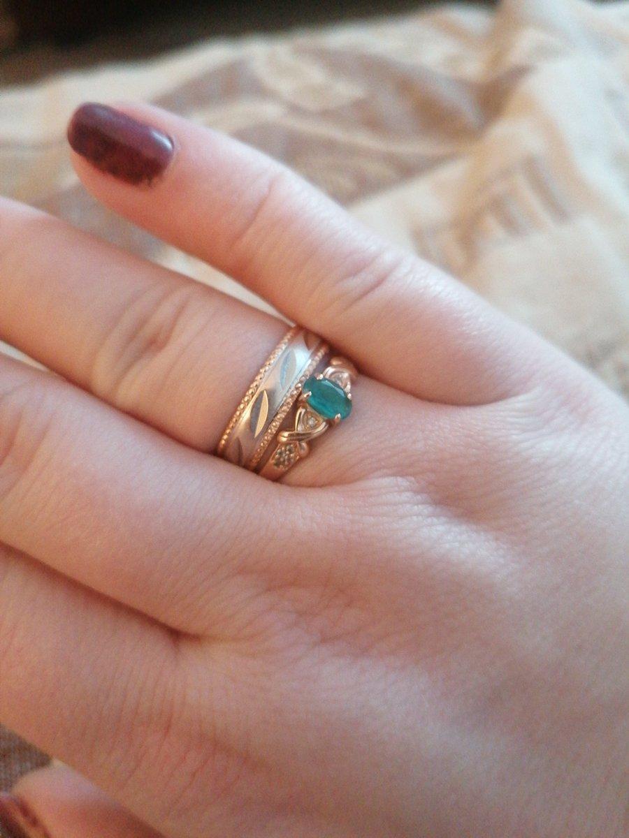 Кольца восхитительные.