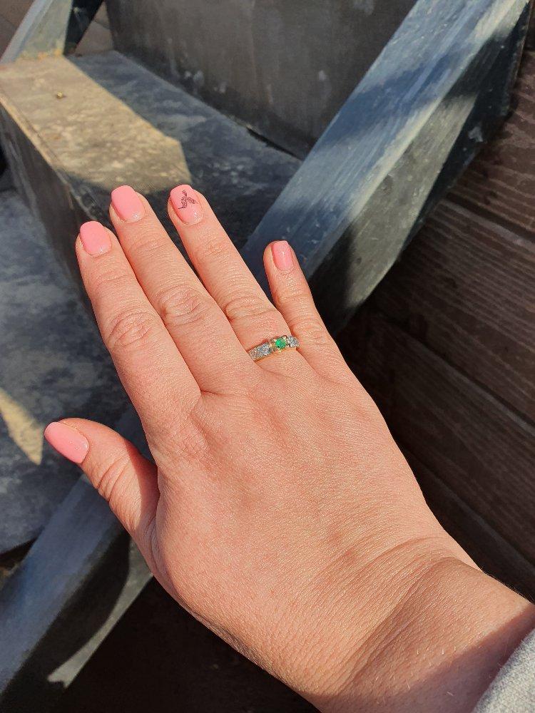 Кольцо на юбилей