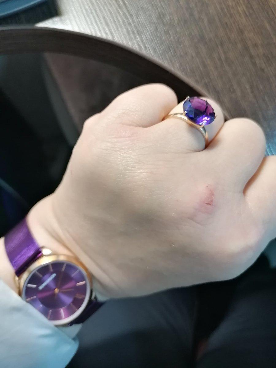 Аметист фиолетовый