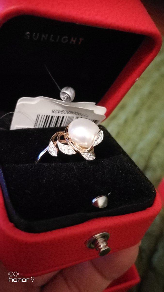 Получила подарок на жемчуденную свадьбу.