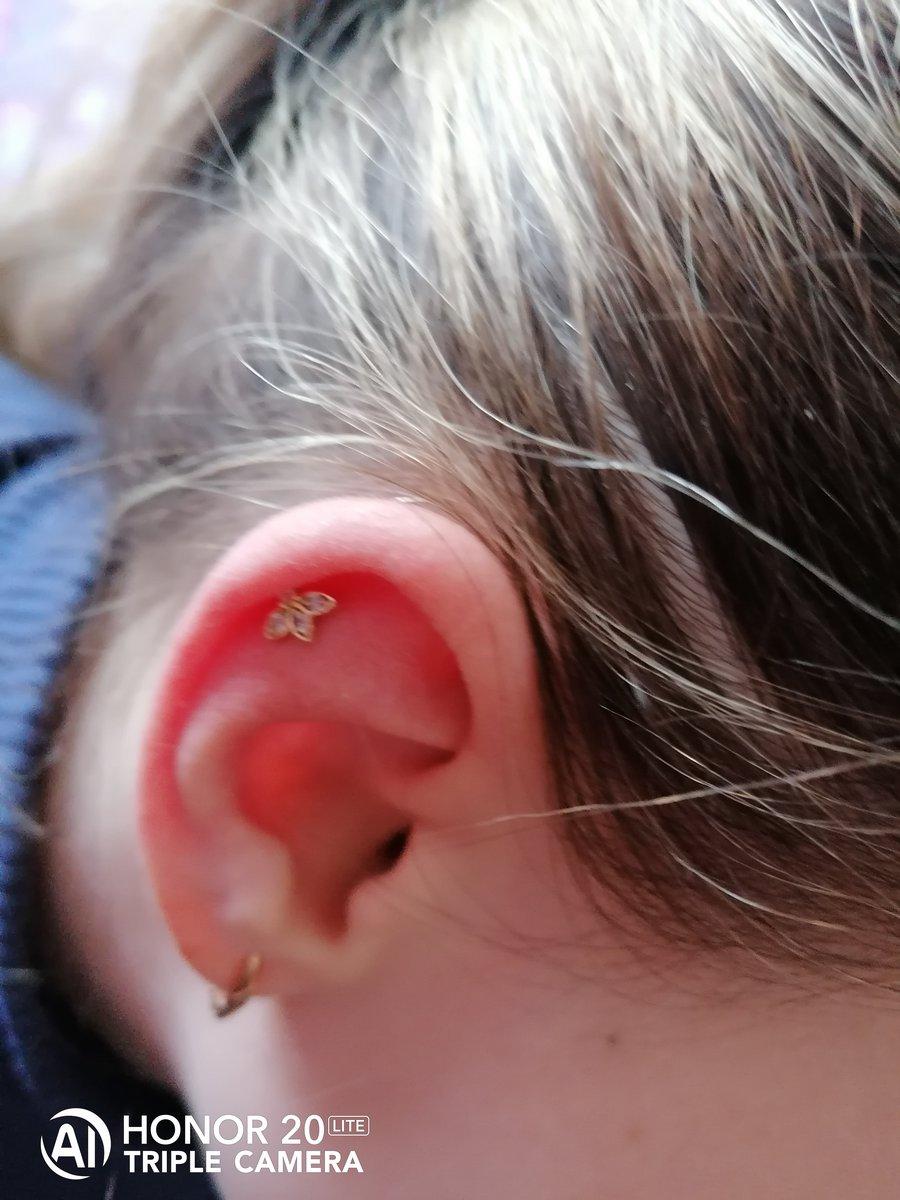 Пирсинг в ухо