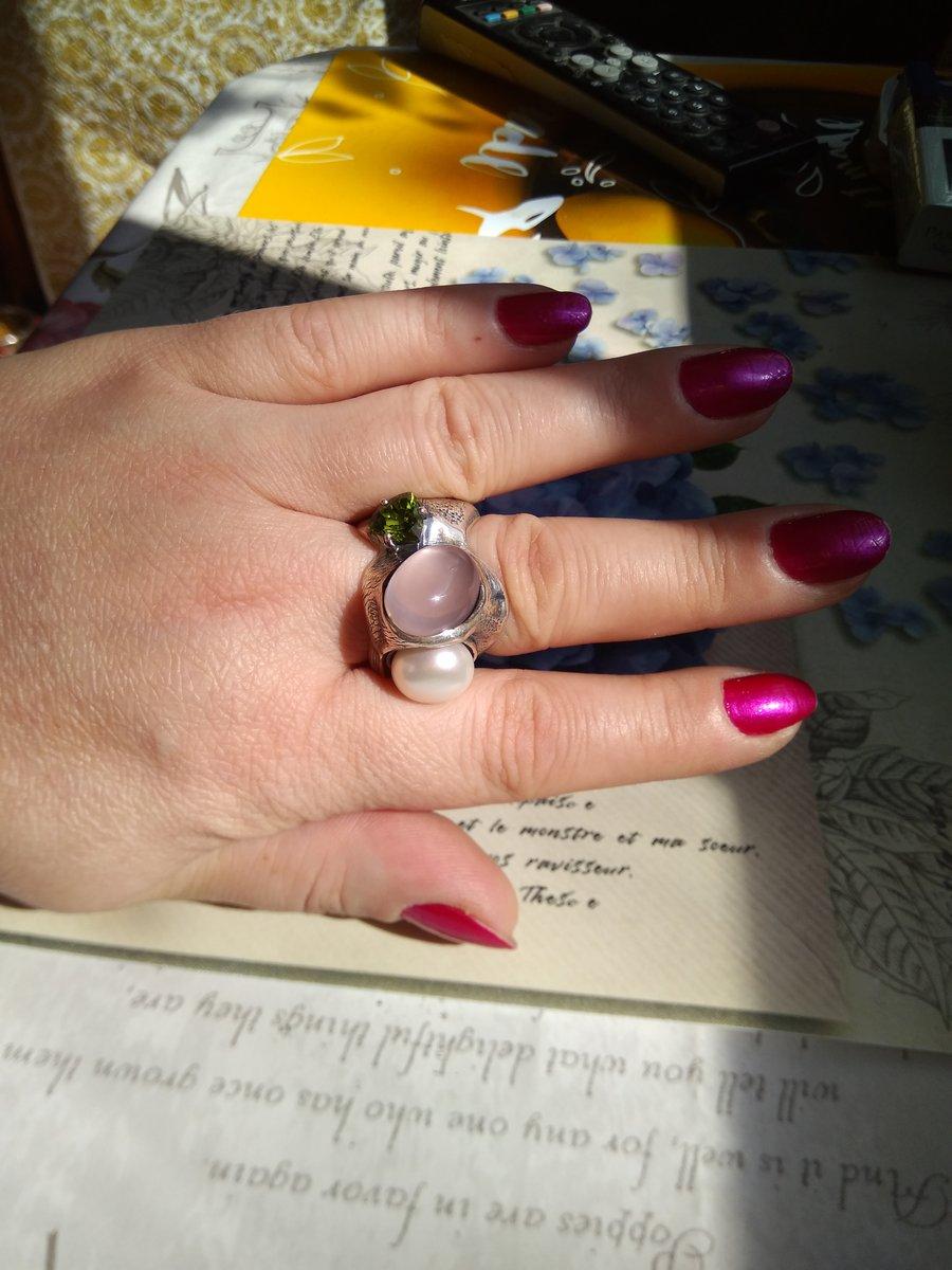 Серебряное дизайнерское кольцо