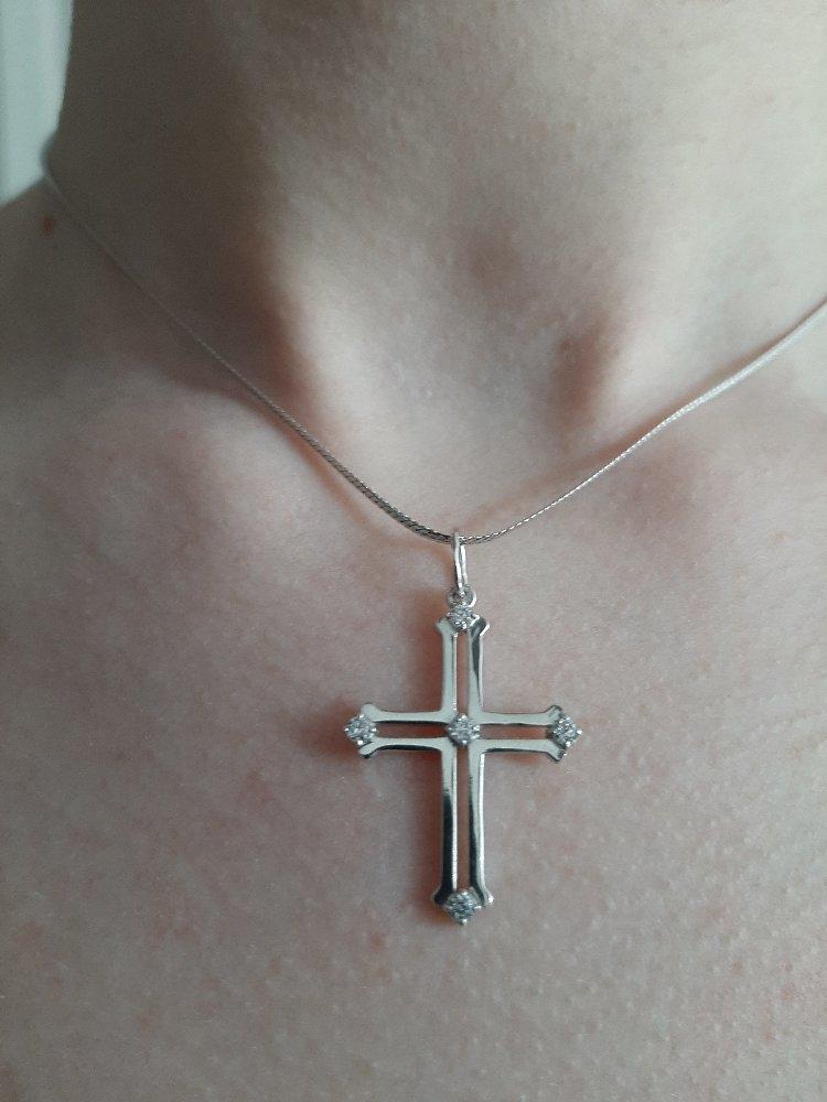 Крестик для любителей минимализма!