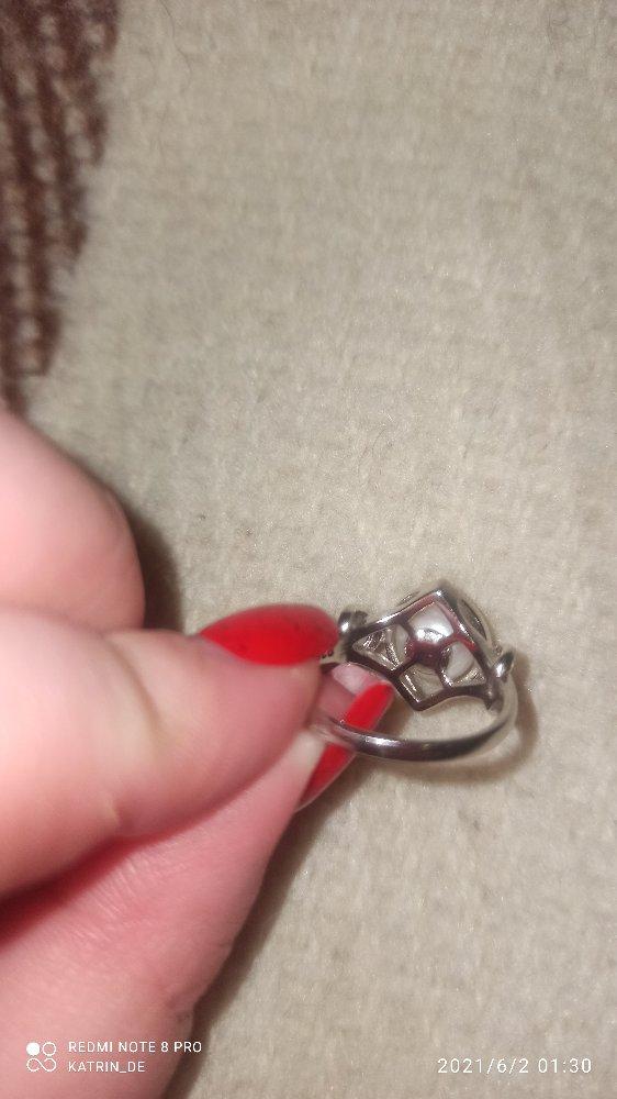 Кольцо с жемчугом (есть подвеска)
