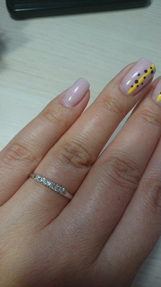 Кольцо серебряное с бриллиантами