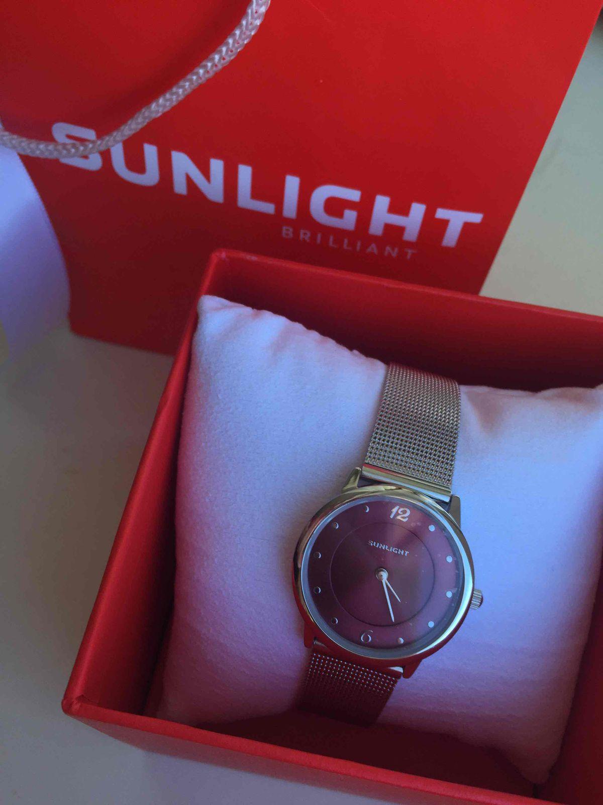 Часы sunlight на миланском браслете