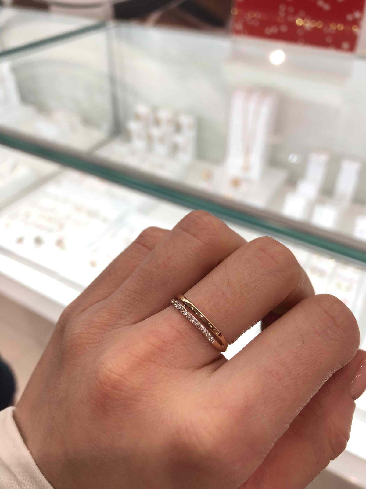 Очень изящное кольцо