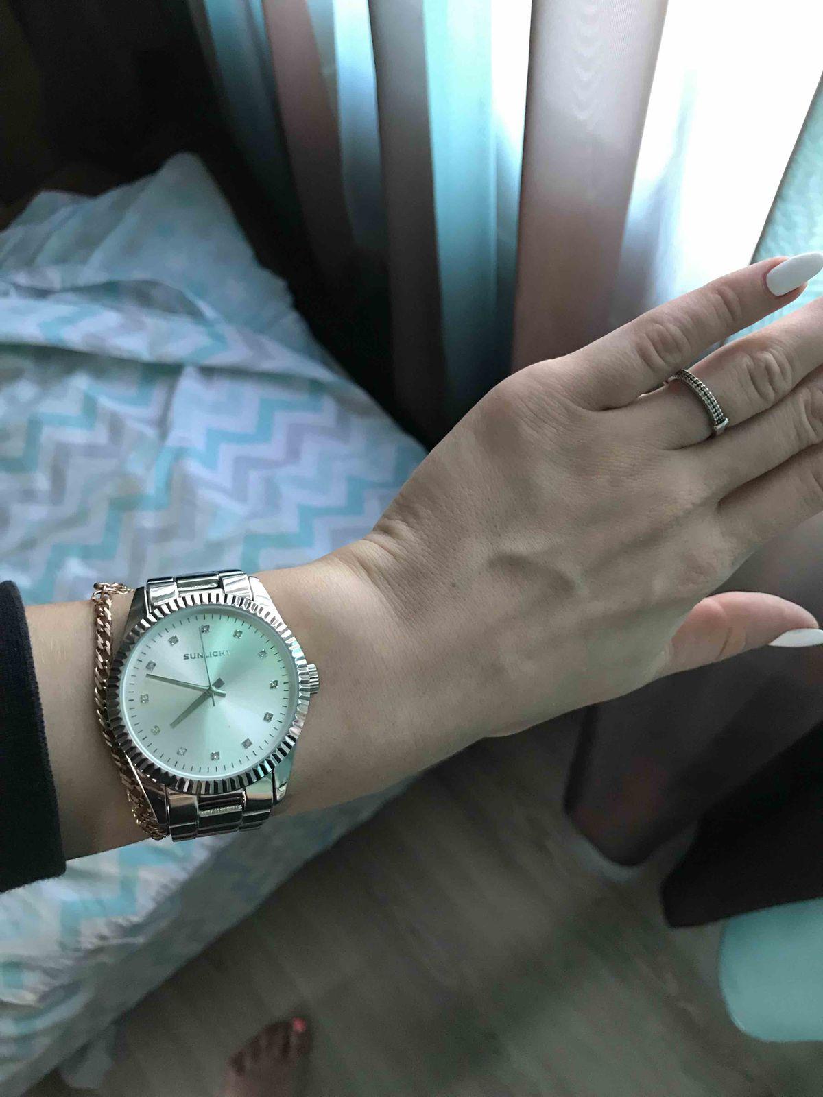 Часы из санлайта