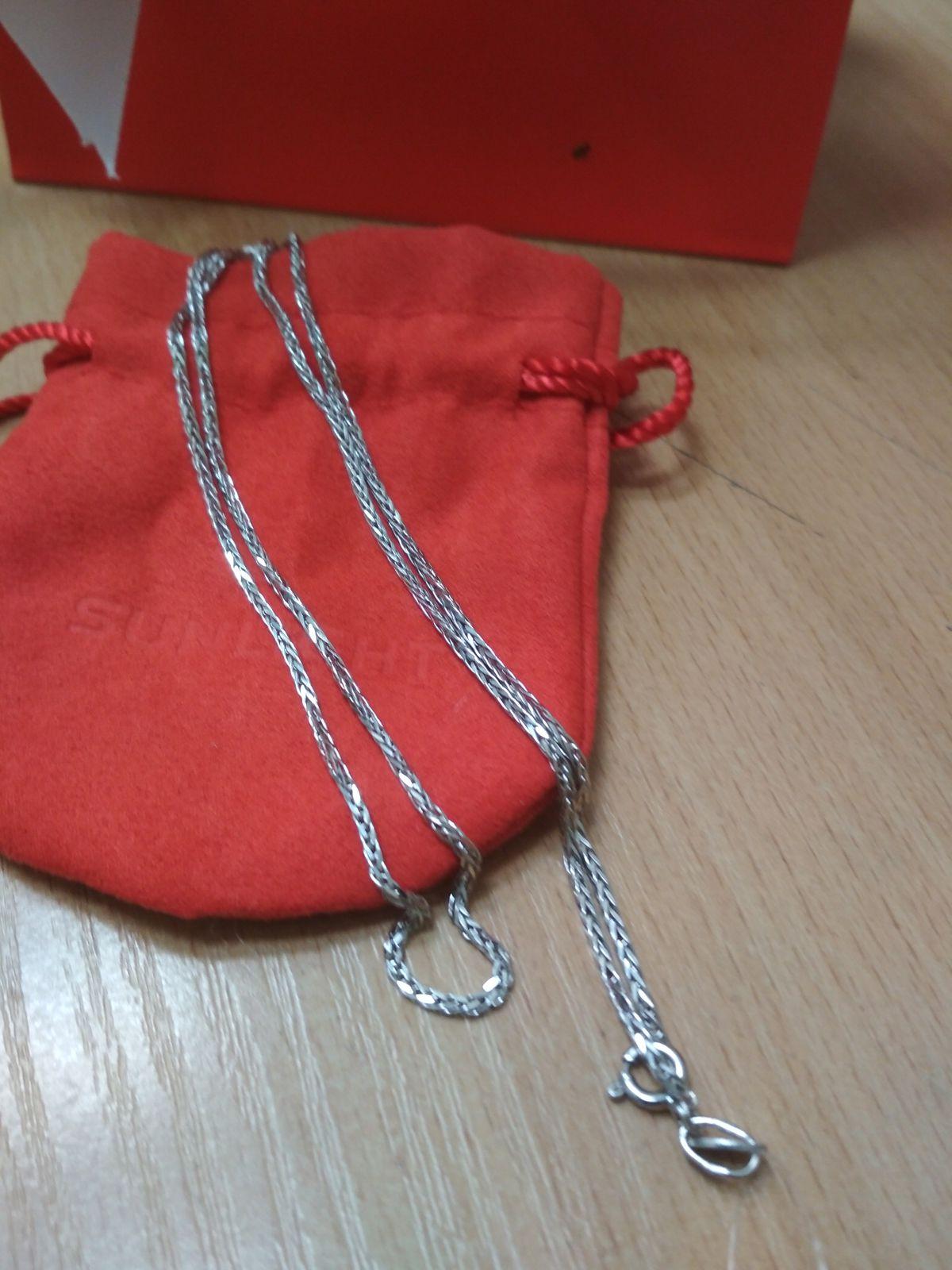 Цепь серебро 50 см