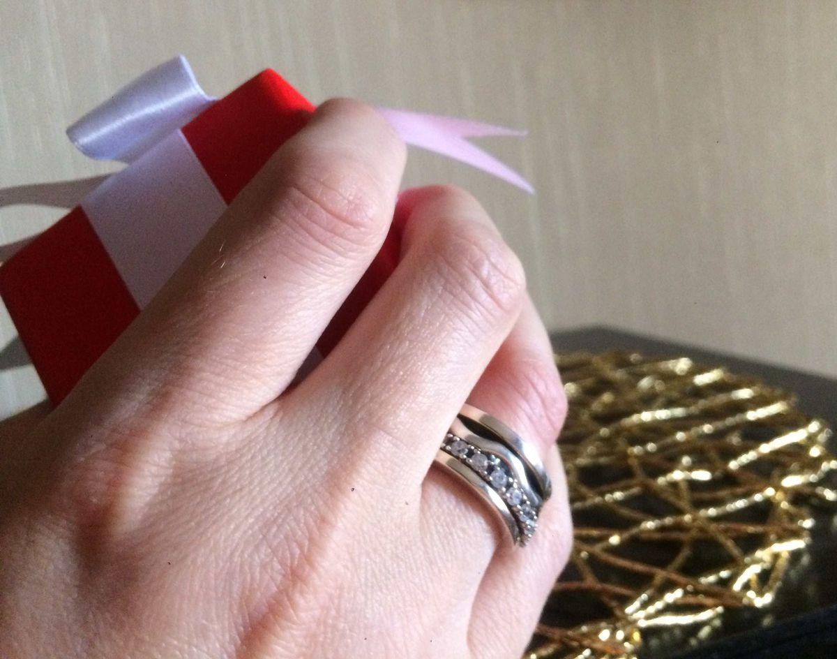 Интересное кольцо.