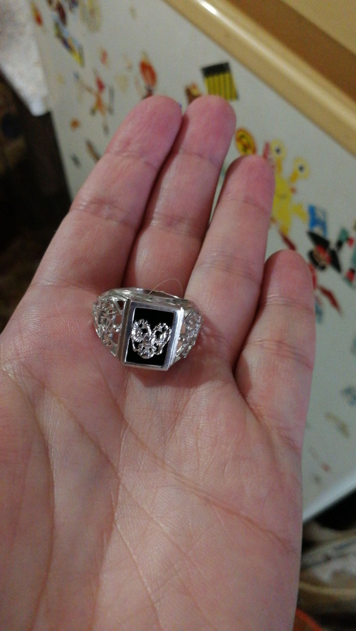 Замечательный перстень....