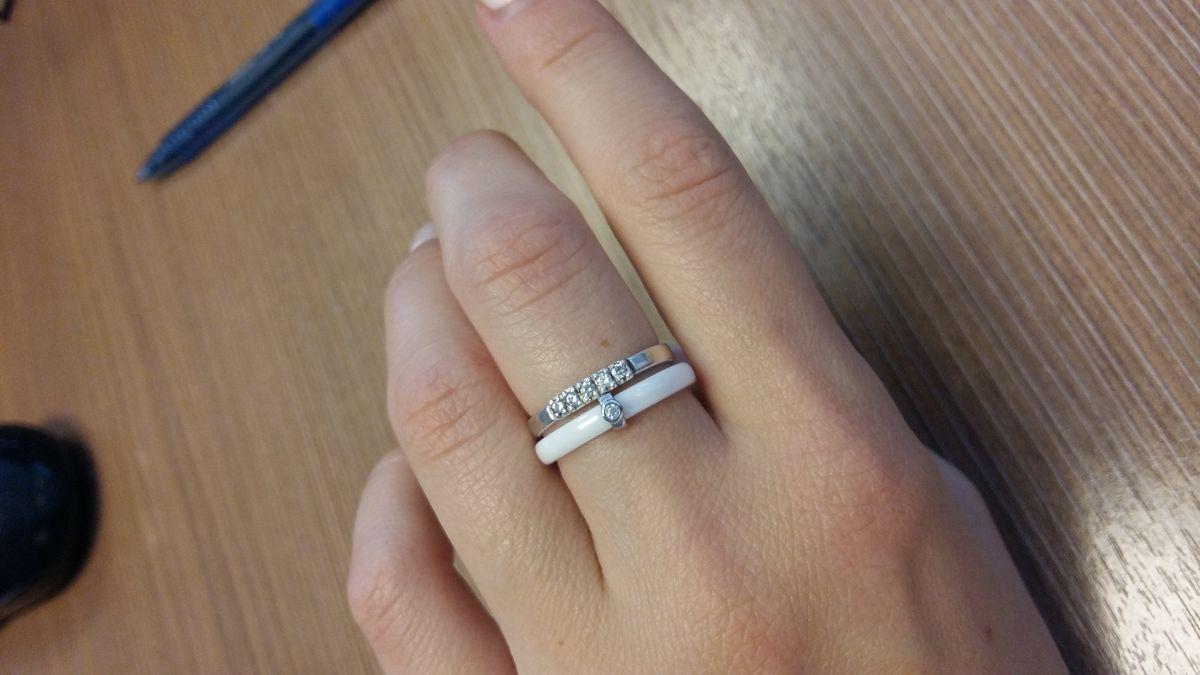 Лаконичное кольцо по хит цене