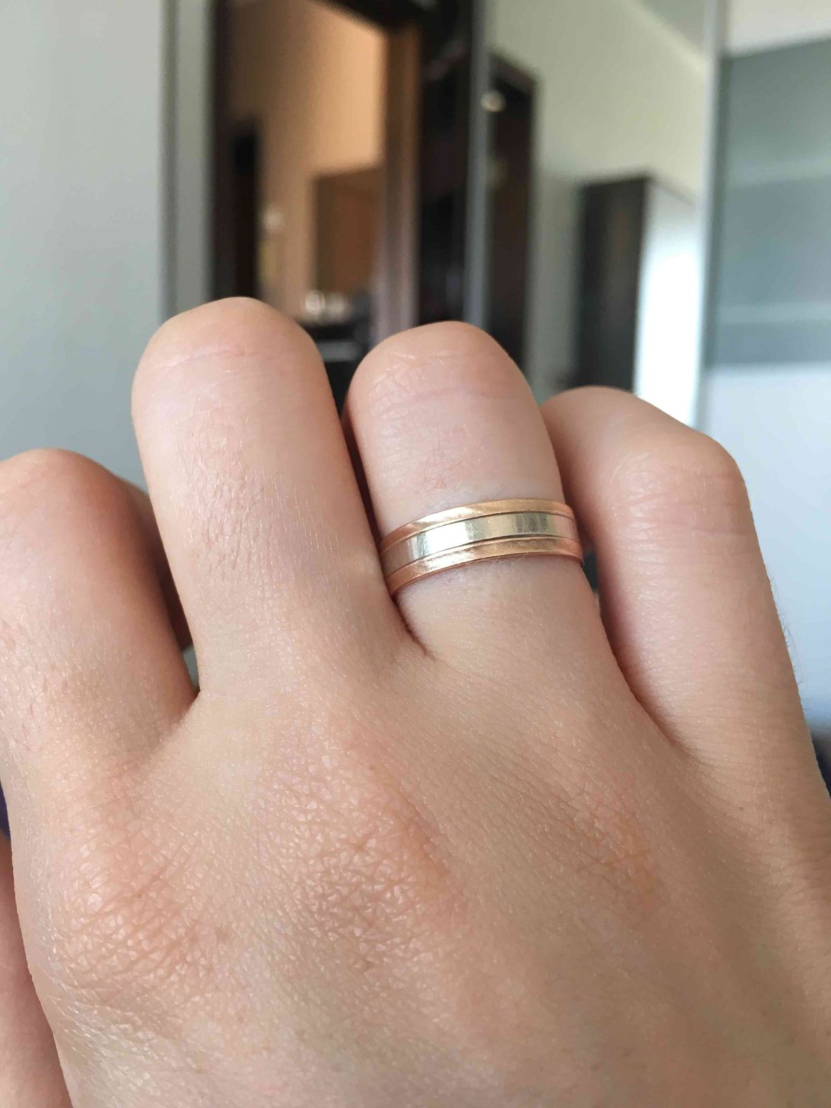 Обручальное кольцо 👍🏼