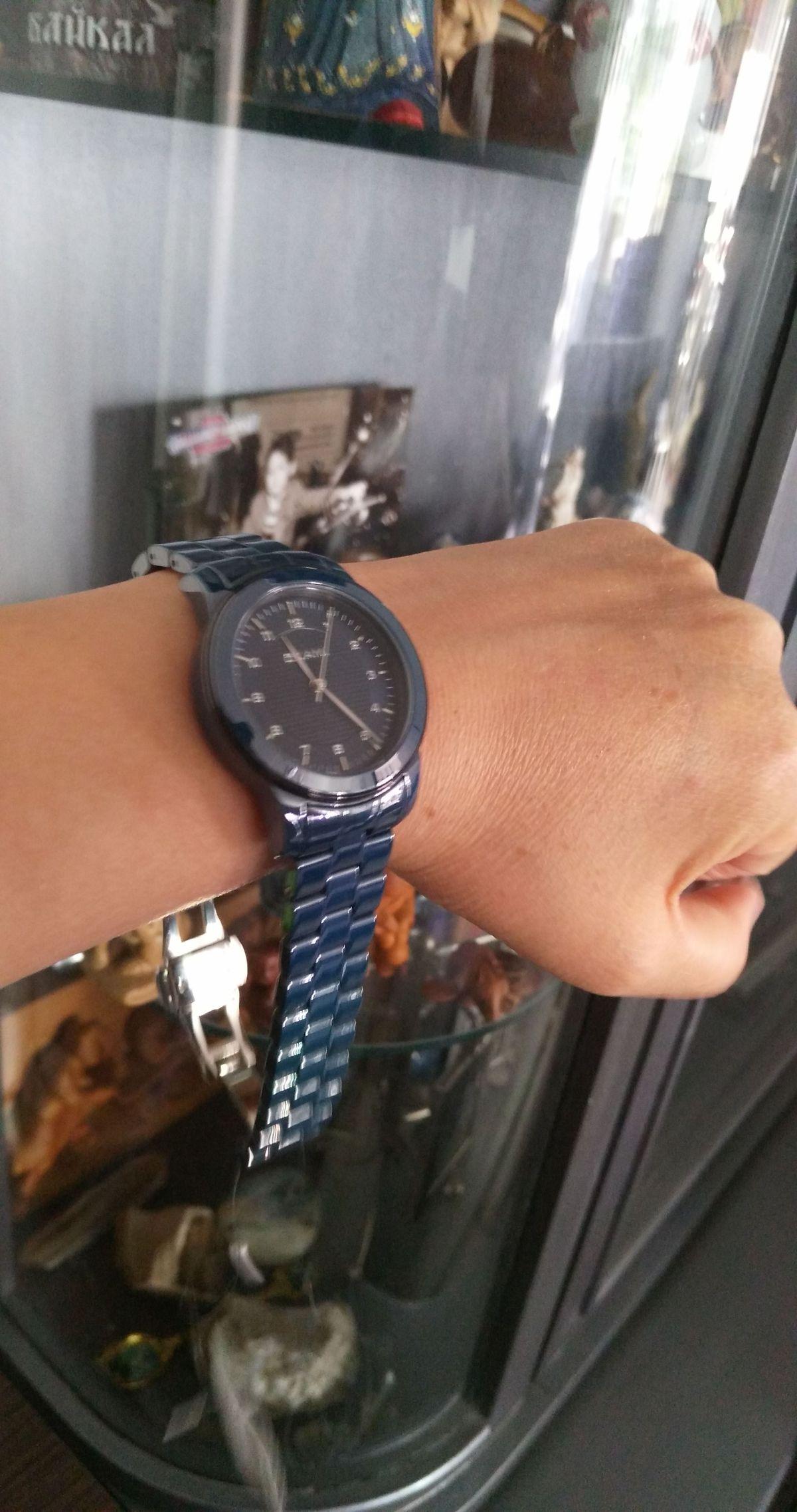 Мои новые часы)