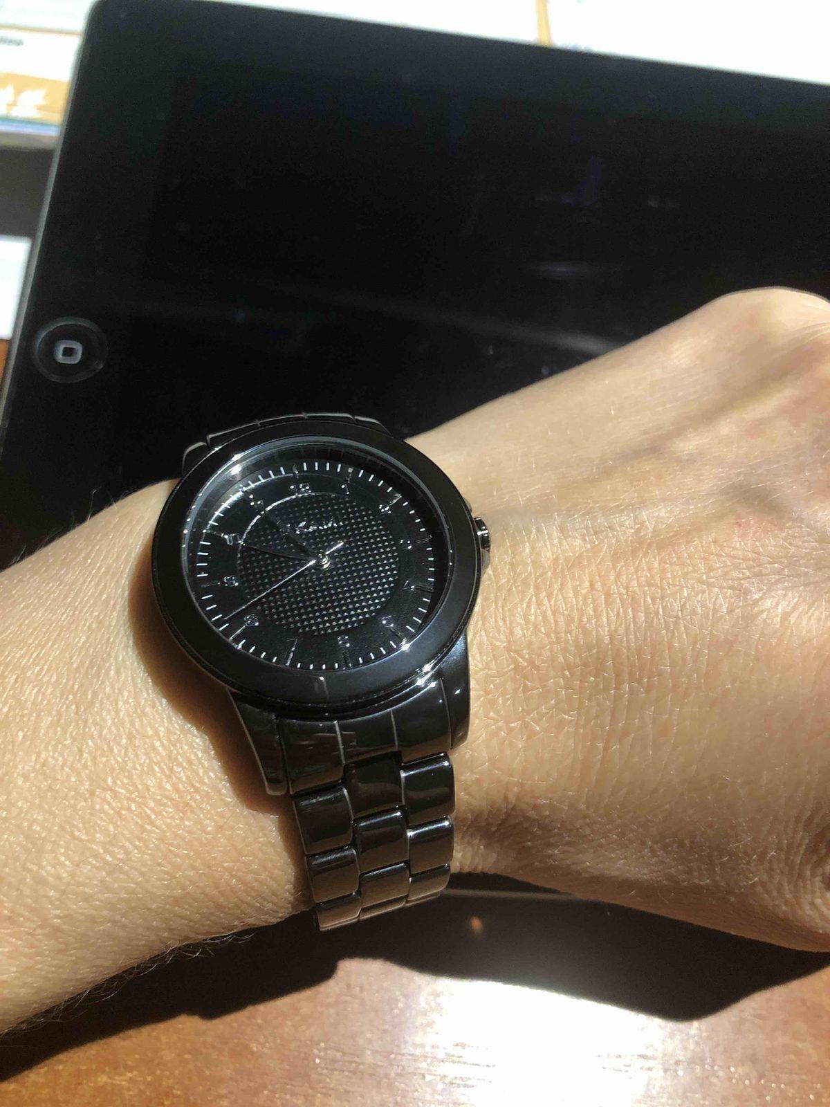 Часы OKAMI чёрные