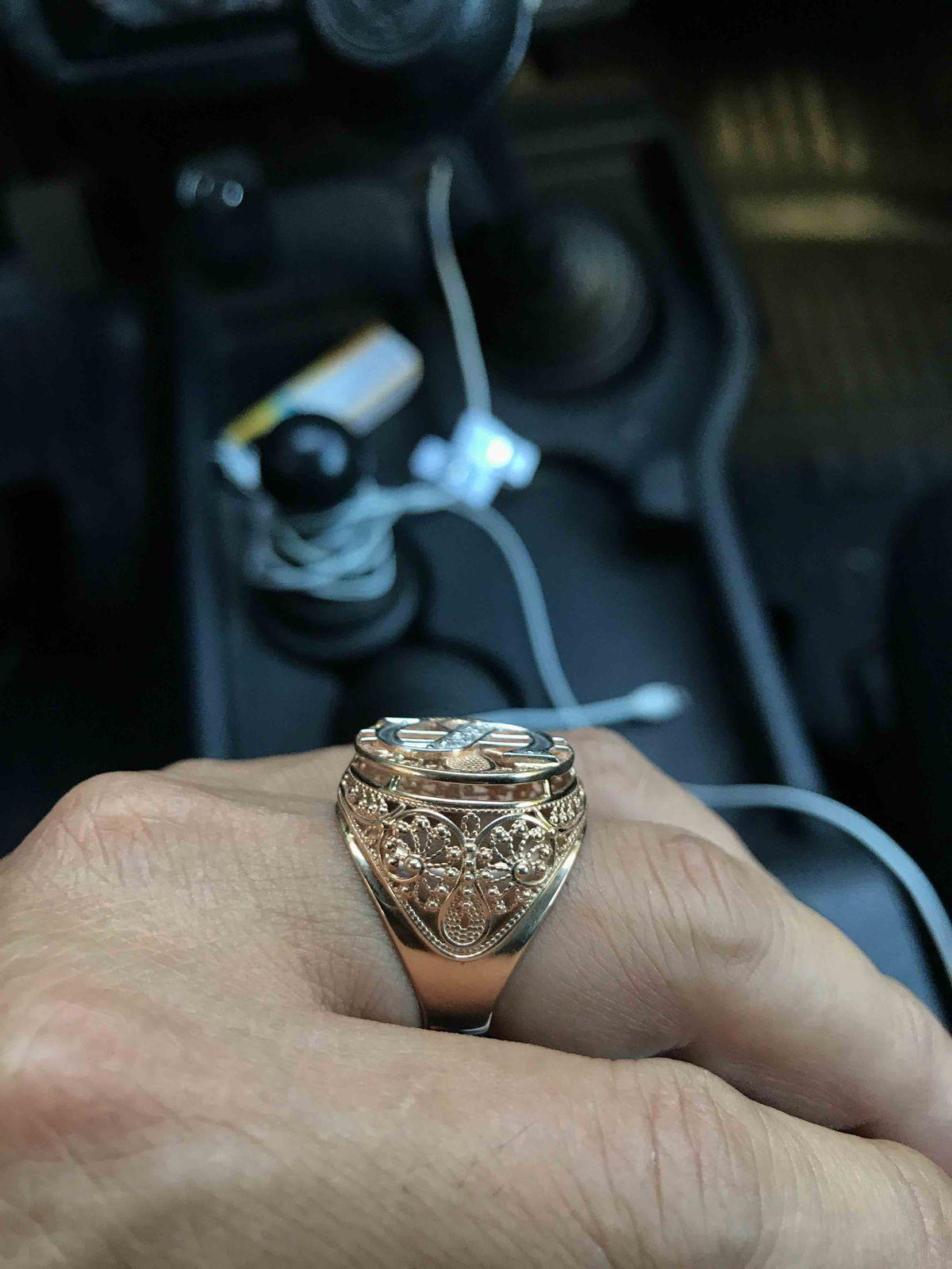 Перстень 🔥 огонь