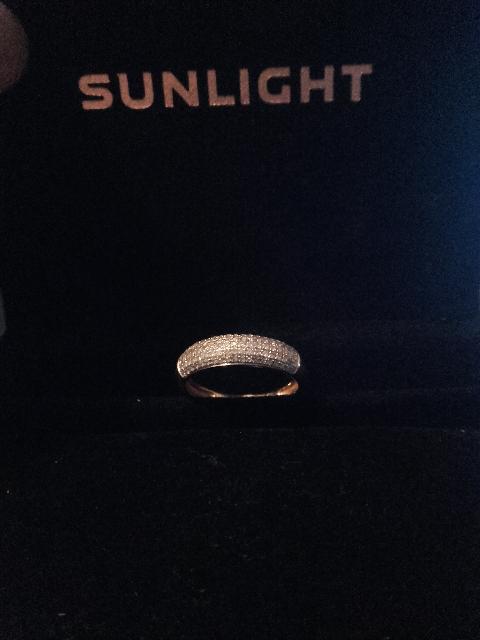 Кольцо покупали как обручальное .