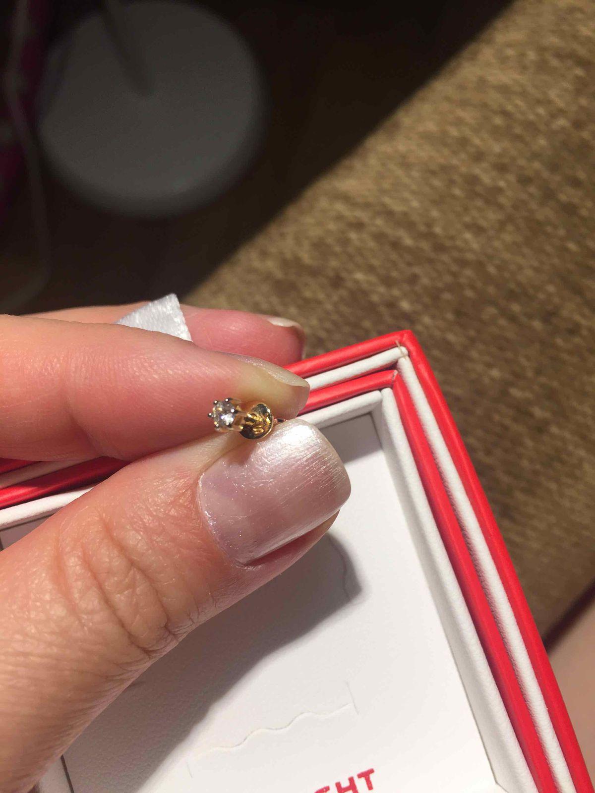 Наконец-то купила бриллианты)