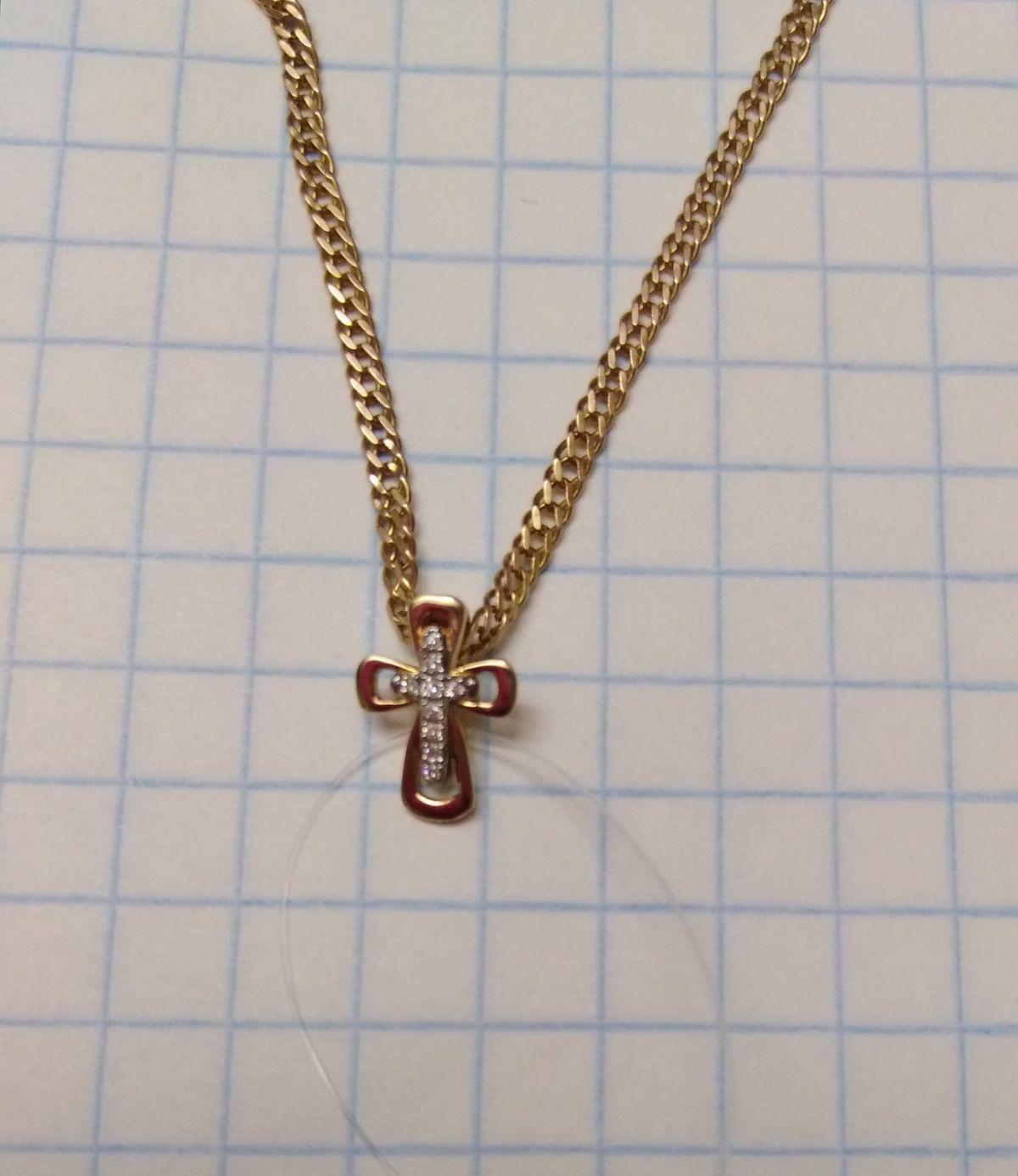 Крестик для дочки