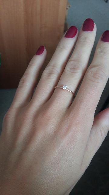 Элегантное кольцо