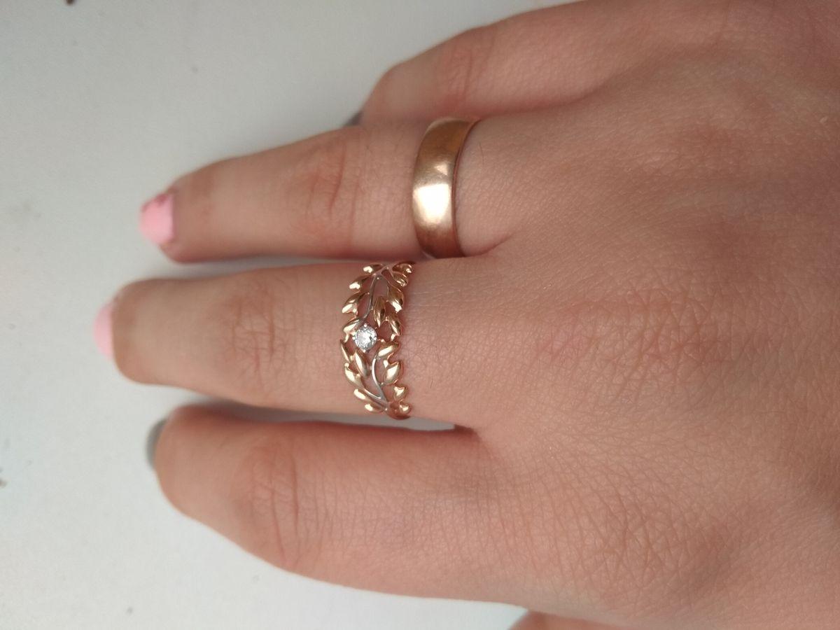 Очень красивое и изящное кольцо