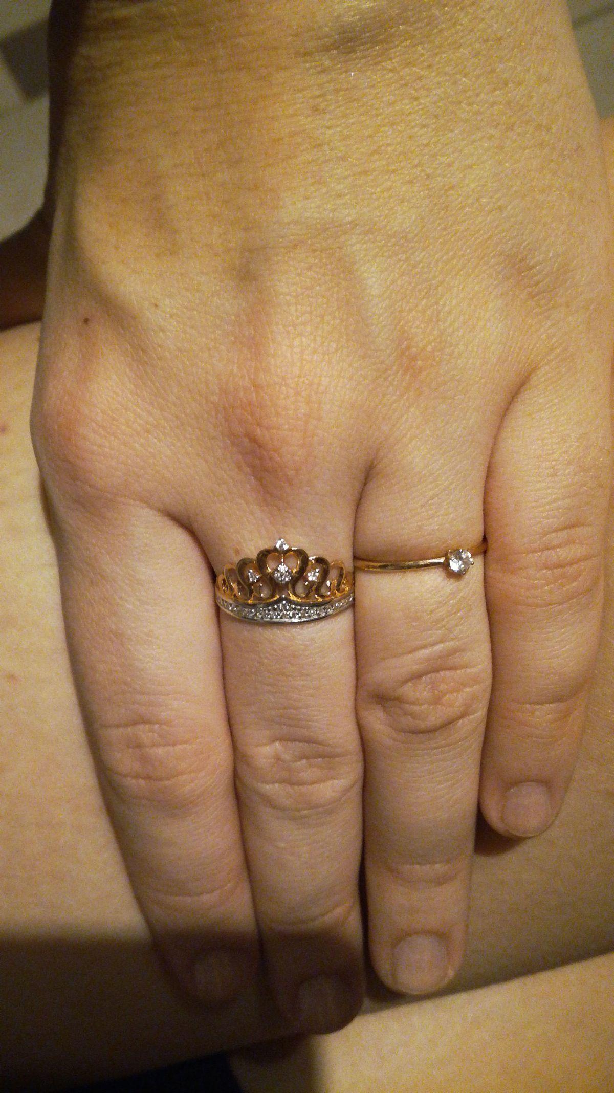 Прекрасное кольцо для взрослой принцессы