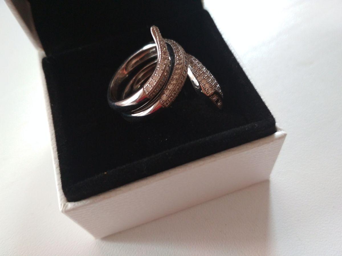 Кольцо со змеей