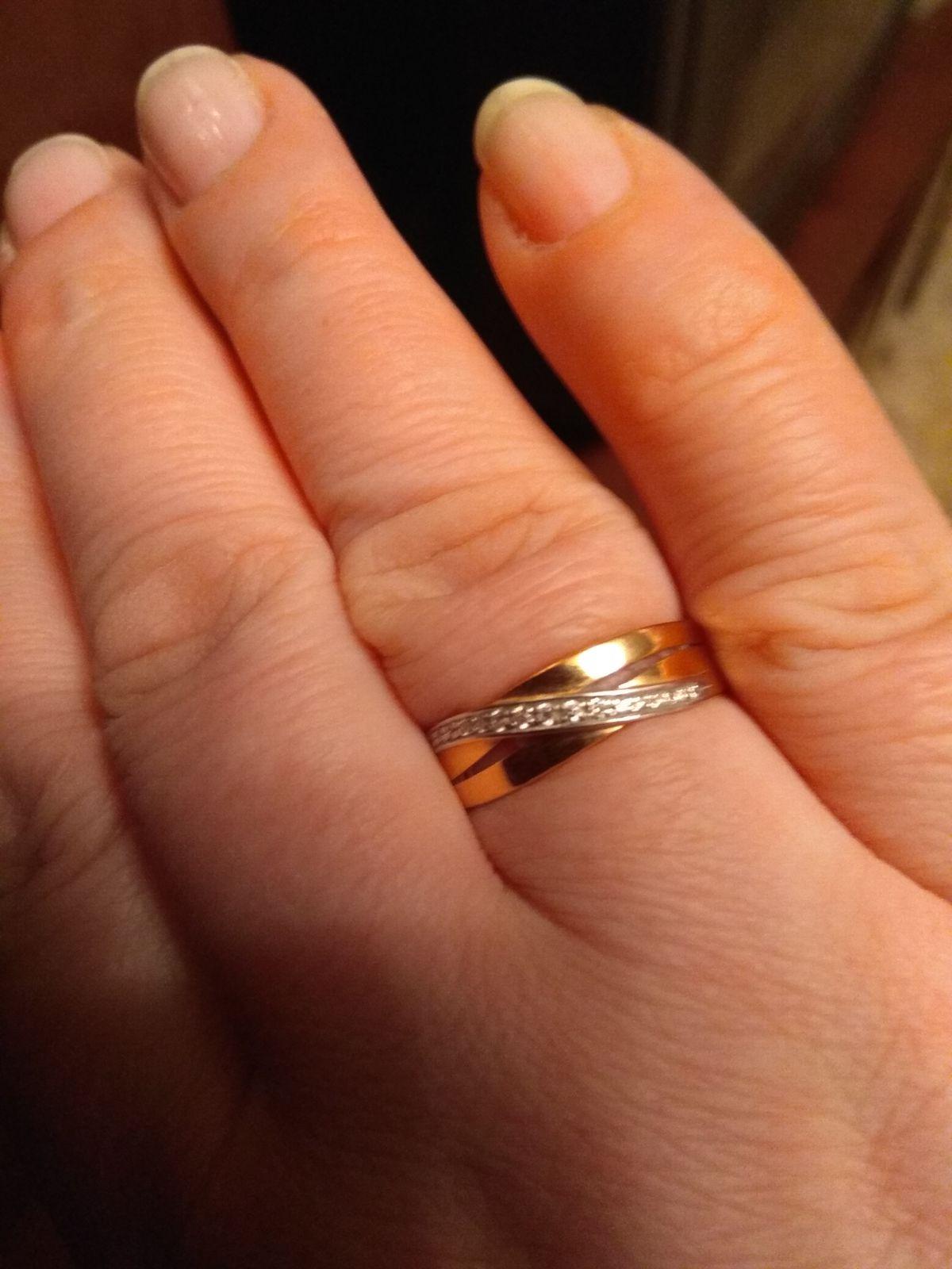 Самое удобное широкое кольцо.