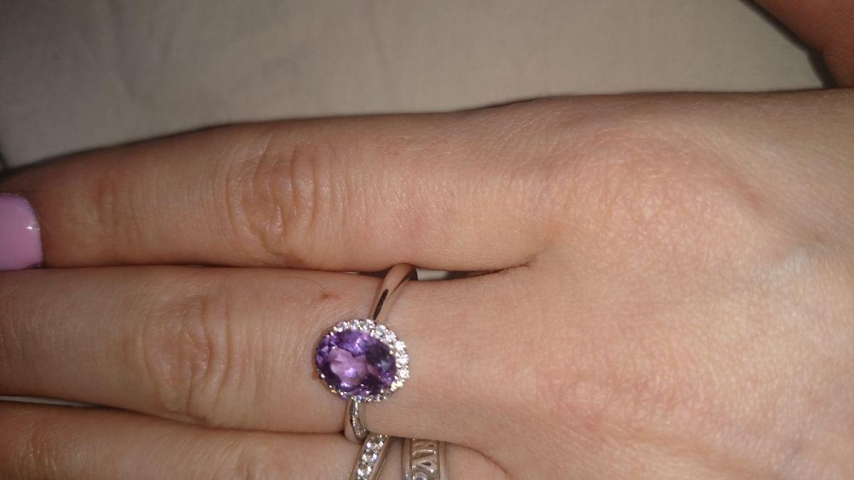 Кольцо, серебро 925 пробы.