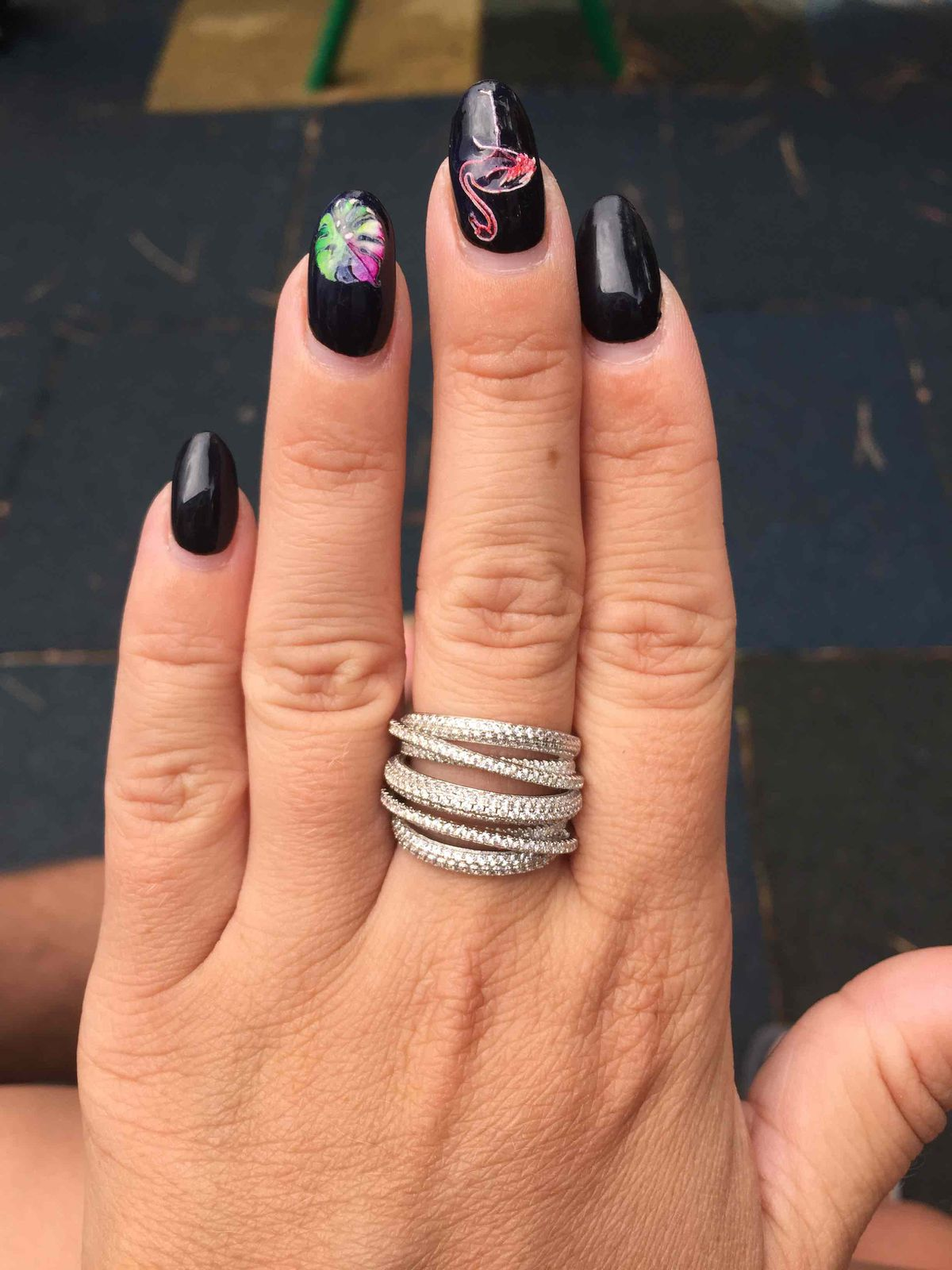 Красивое кольцо !