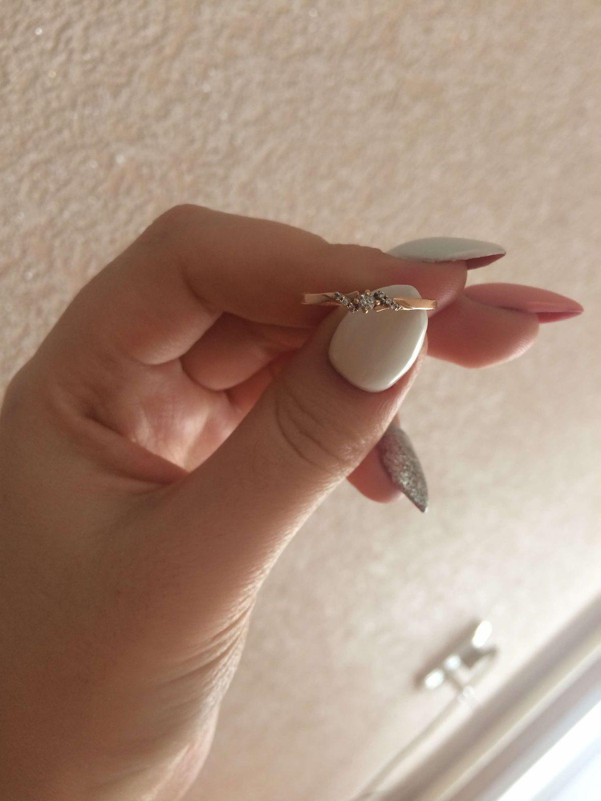 Кольцо,скромное