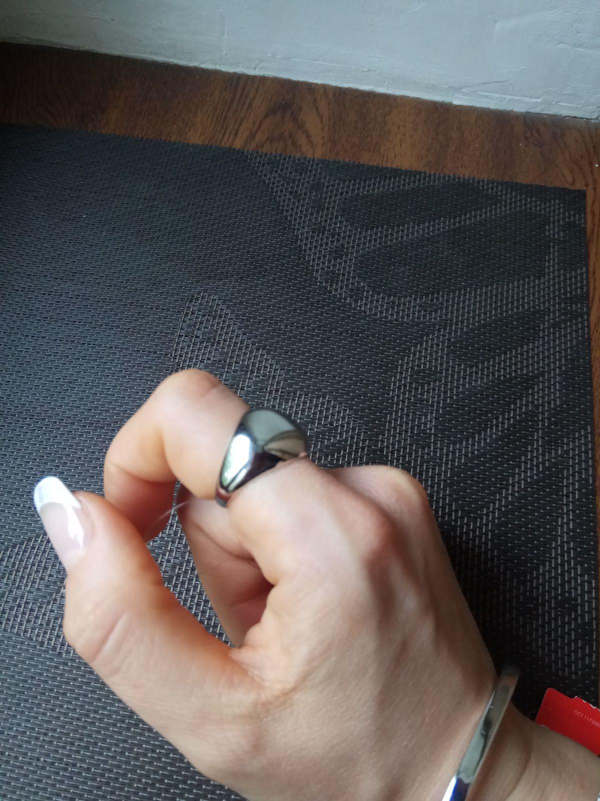 Перстень дутый