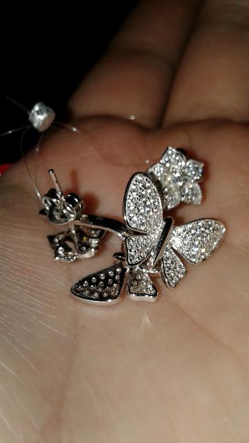 Очень милые бабочки с цветочками