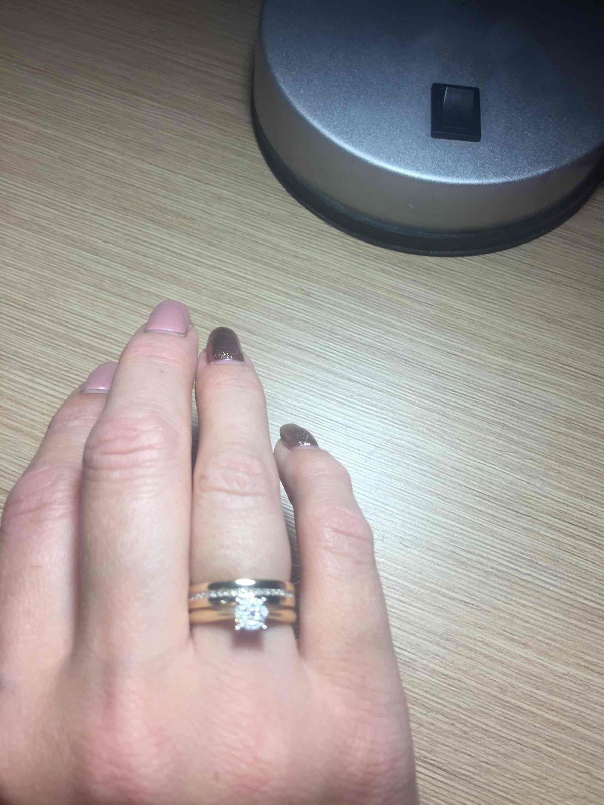 Я в восторге от обручального кольца