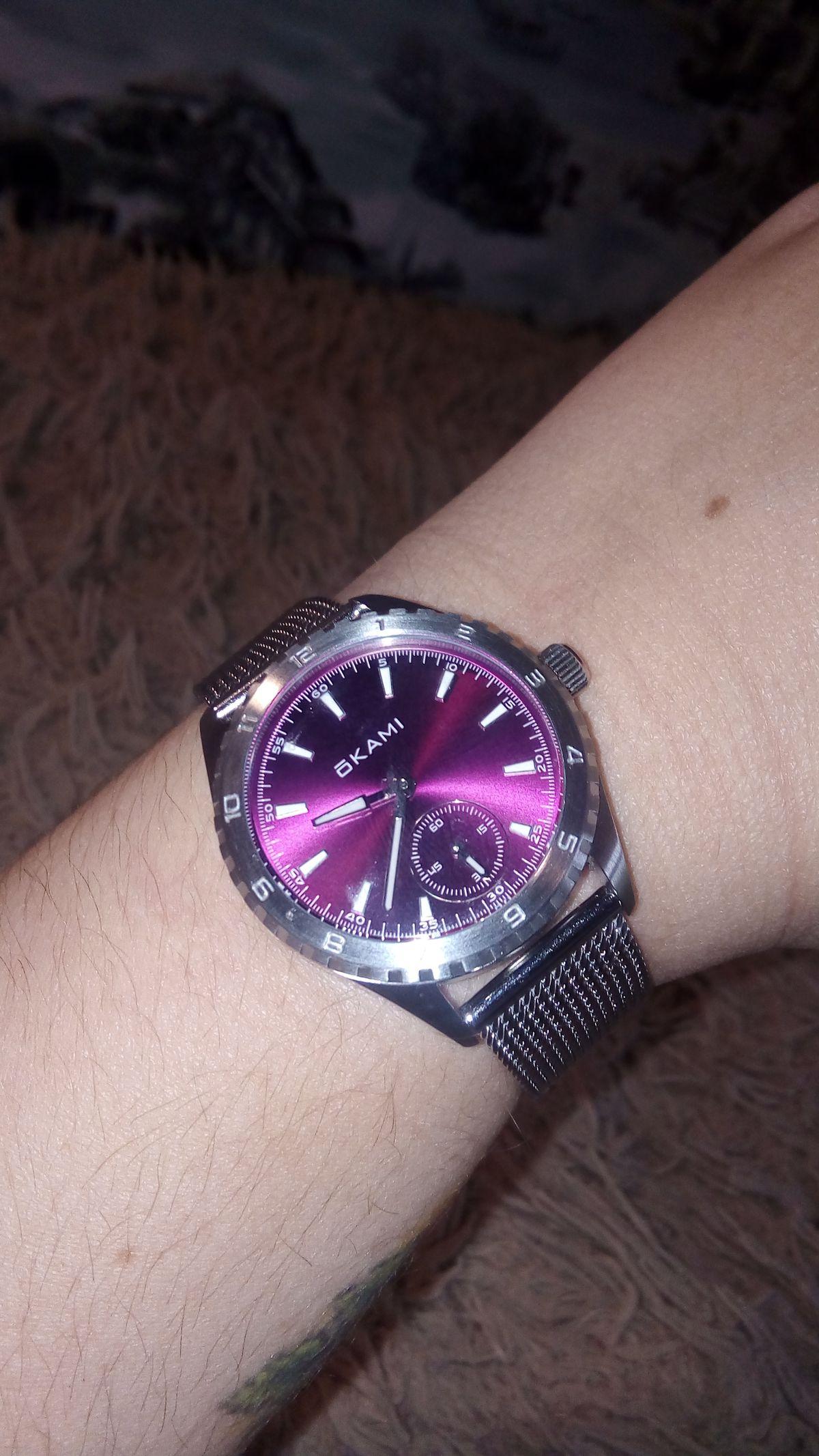 Часы и браслет из хирургической стали!
