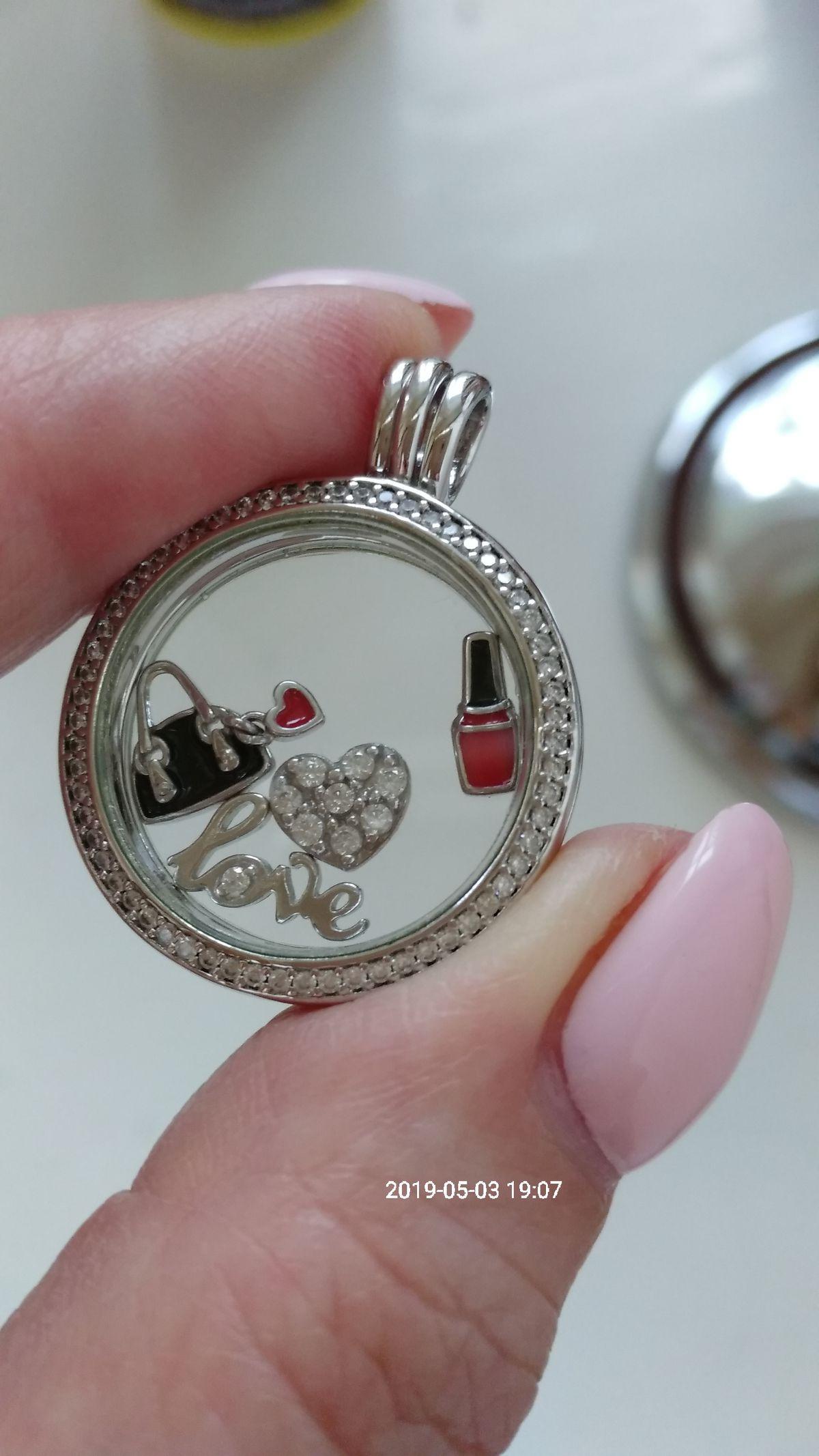 Серебряные миниатюры для медальона