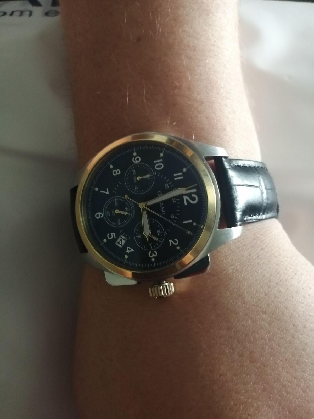 Подарила часы мужу на день рождения, муж в восторге и я от этого тоже))))))